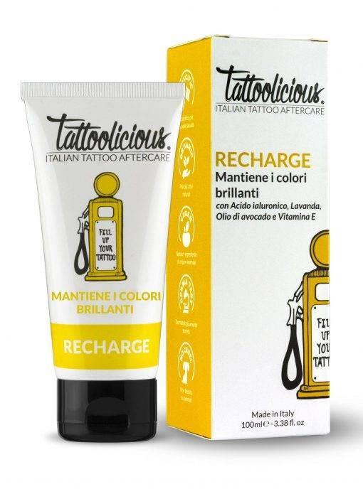 crema mantenimento colore tatuaggio