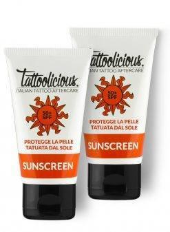 protezione solare tatuaggio