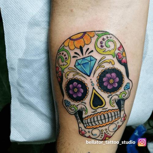 significato teschio messicano